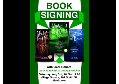 Mystery at Point Beach Author Event